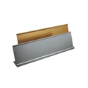 "Picture of Aluminium Desk Name Bar ""L"" Shape - Size: 20cm x 5cm"
