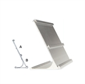 Picture of Double Aluminium Desk Name Bar -Size: 25cm x 9cm