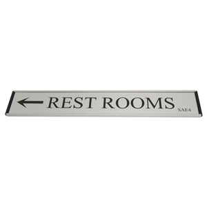 Picture of Door or Wall Name / Information Plates - H 3.8cm & 5cm
