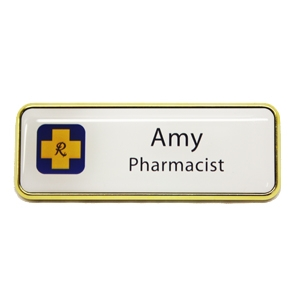 Picture of Name Badge Style 4B