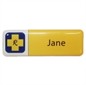 Picture of Non Framed - Name Badge Style 2 NF