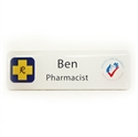 Picture of Non Framed - Name Badge Style 4A NF