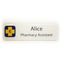 Picture of Non Framed - Name Badge Style 4B NF
