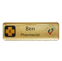 Picture of Non Framed - Name Badge Style 5A NF