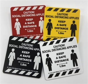 Picture of Social Distancing Badges